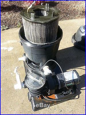 STA RITE SYSTEM 3 Modular media pool filter/pump combo