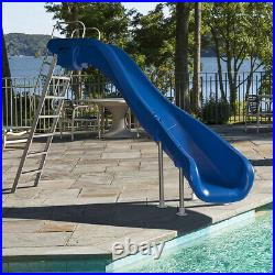 S. R. Smith 610-209-58110 Rogue2 Slide Right Curve Taupe 8' Ft for Swimming Pools