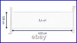 Solarmatte Solarheizung Solarabsorber Poolheizung 450 x 120 cm Pool aufheizen