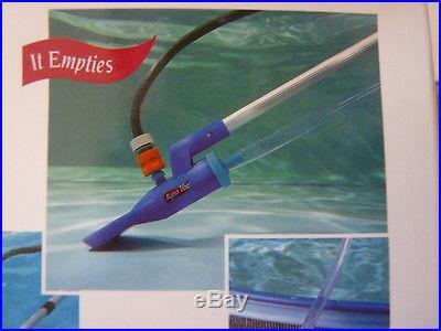 Supa Vac Swimming Pool & Spa Vacumm Cleaner kit & Telescopic Pole
