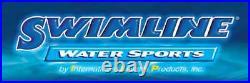 Swimline LI184820 18' Solid Blue Round Above Ground Swimming Pool Overlap Liner