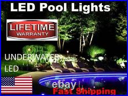 Swimming Pool Accessories UNDERWATER Submersible LED Accent Lighting Disco NEW