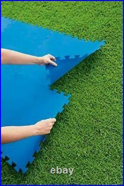 Swimming Pool Ground Floor Protector EVA Foam Mat Slip Resistance Base 50x50cm