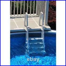 Vinyl Works Deluxe In Step 46 60 Above Ground Swimming Pool Ladder (Used)