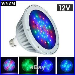 WYZM 12V 40W RGB Color Change LED Pool Light Bulb for Pentair Hayward Fixture