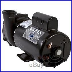 Waterway Executive 56-Frame 4HP Dual-Speed Spa Pump 3721621-1D