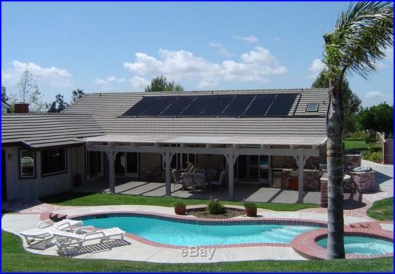XLong Inground Above Ground 28x20' Solar Energy Swimming Pool Sun Heater Panel